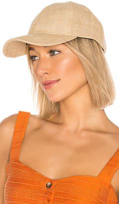 Vix Paula Hermanny Woven Baseball Cap