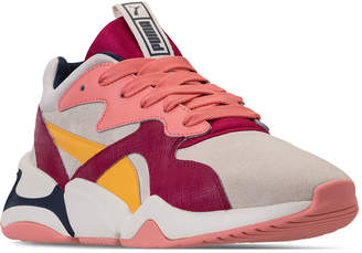Puma Women Nova Suede Casual Sneakers from Finish Line