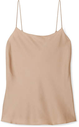Theory Teah Stretch-silk Camisole - Beige