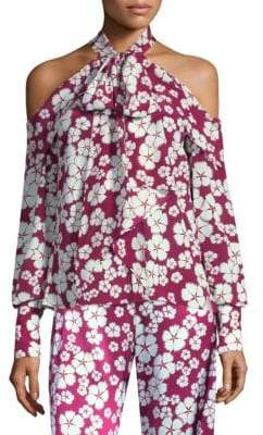 Alexis Women's Paloma Floral-Print Blouse - Floral - Size XS