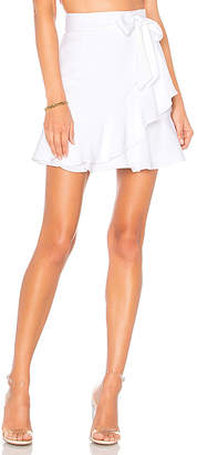 superdown Patricia Ruffle Wrap Skirt