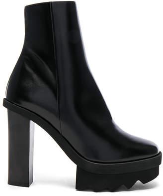 Stella McCartney Platform Ankle Boots in Black | FWRD