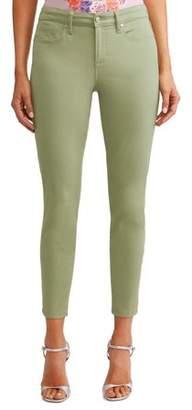 Sofía Jeans by Sofía Vergara Sofia Skinny Mid Rise Stretch Ankle Twill Jean Women's