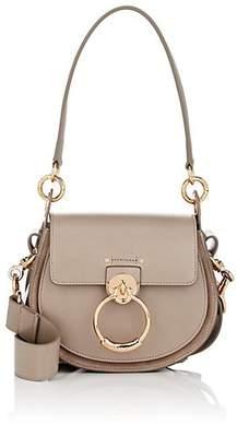 Chloé Women's Tess Small Leather Shoulder Bag - Light Gray