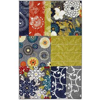 Mohawk Home New Wave Secret Garden Patch Printed Rectangular Indoor Rugs