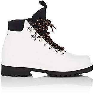 Barneys New York Women's Neoprene-Insert Rain Boots - White