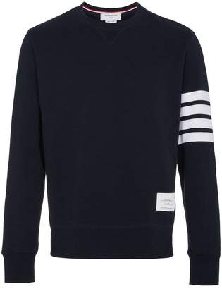 Thom Browne Engineered 4-Bar Jersey Sweatshirt