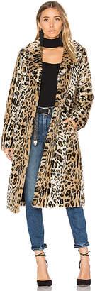 Majorelle Fifi Faux Fur Coat