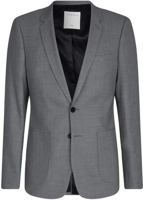 Sandro Wool Tailored Jacket