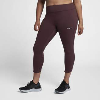Nike Women's Running Crops (Plus Size Epic Lux