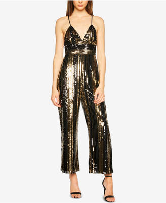 Bardot Sequined Jumpsuit