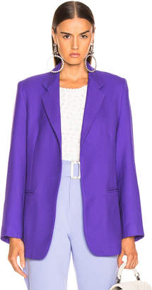 Georgia Alice GEORGIA ALICE Boy Blazer in Purple | FWRD