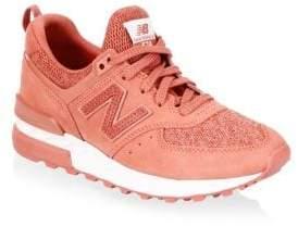 New Balance Women's 574 Sport Sneakers - Cinnamon - Size 5