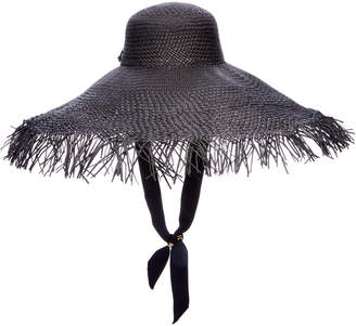 Sensi Studio Frayed Straw Hat