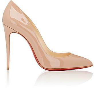 Christian Louboutin Women's Pigalle Follies Patent Leather Pumps - Nude