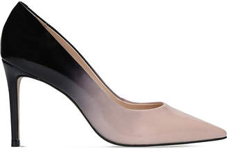 Carvela Alison patent-leather ombré courts