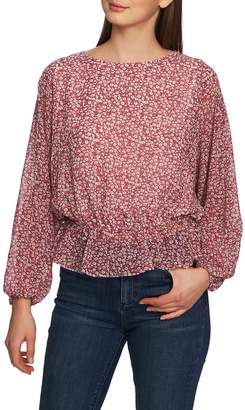 1 STATE 1.STATE Disty Floral Blouson Top