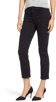 7 For All Mankind JEN7 by Stretch Crop Straight Leg Jeans