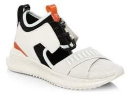 Puma Women's Fenty Avid Cutout Sneakers - White - Size 5.5