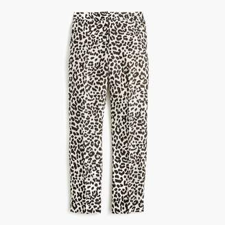 J.Crew Easy pant in leopard