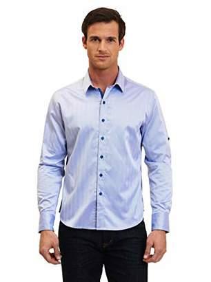 Robert Graham Men's Tall Size Canton L/s Classic Fit Shirt
