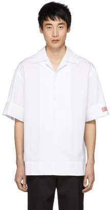 Calvin Klein White Poplin Shirt