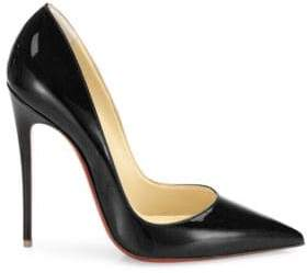 Christian Louboutin Women's So Kate 120 Patent Leather Pumps - Loubi - Size 42 (12)