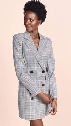 Milly Wool Blazer Dress