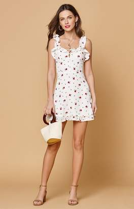 LIONESS Rose Hamptons Mini Dress