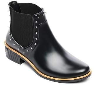 Bernardo Peyton Studded Rubber Rain Ankle Boots