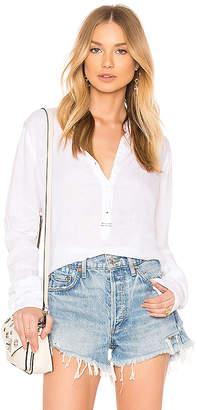Stateside Collarless V-Neck Shirt