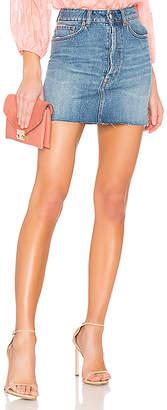 Iro . Jeans Amven Skirt.