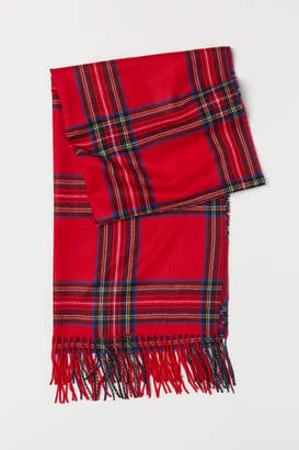 H&M Woven Scarf - Red