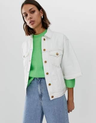 Pepe Jeans Crop Sleeve Denim Jacket