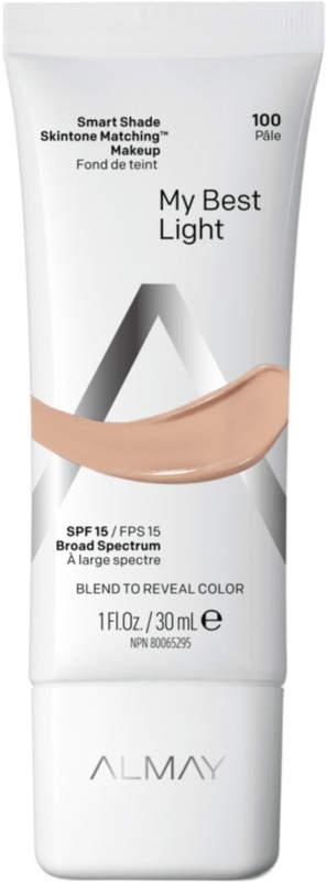 Almay smart shade skin tone matching makeup