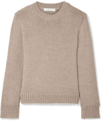 The Row Essea Cashmere Sweater - Taupe
