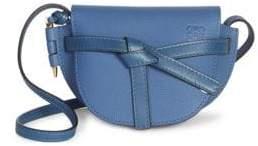 Loewe Women's Two-Tone Soft Grained Leather Gate Mini Bag - Varsity Blue