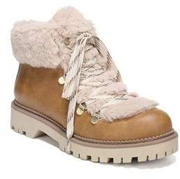 Sam Edelman Kilbourn Faux Fur Hiking Boots