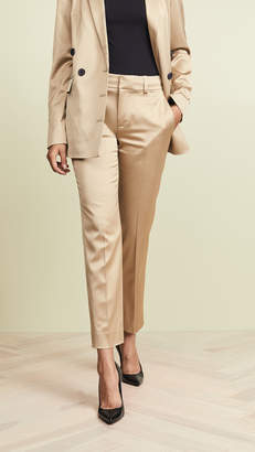 Jason Wu Grey Gold Shine Suiting Pants