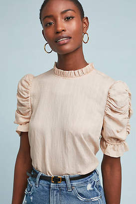 Moon River Maddie Textured Pullover