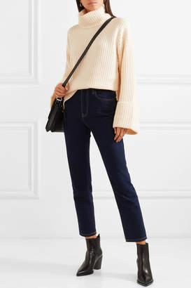 Equipment Uma Oversized Wool And Cashmere-blend Turtleneck Sweater - Ivory