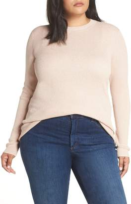 Halogen x Atlantic-Pacific Ribbed Shimmer Top