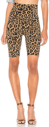 LnA Leopard Bike Short