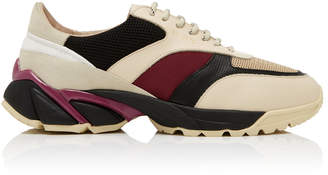 Axel Arigato Tech Runner Leather and Suede Sneakers