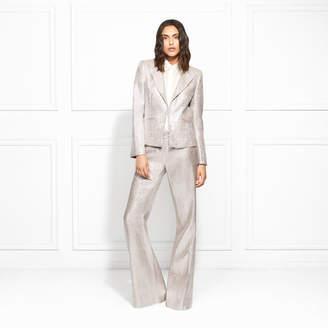 Rachel Zoe Daisy Metallic Suiting Blazer