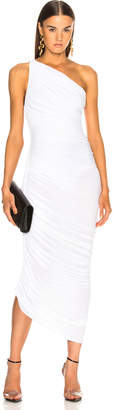 Norma Kamali Diana Dress in White | FWRD