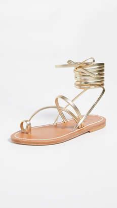K. Jacques Ellada Wrap Sandals