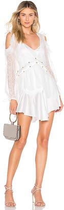 For Love & Lemons Sabina Layered Mini Dress