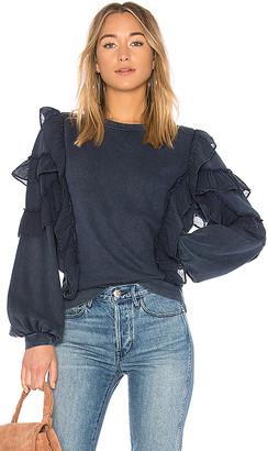 Tularosa Cat Ruffle Sweater
