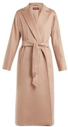 Max Mara Prussia Coat - Womens - Light Pink